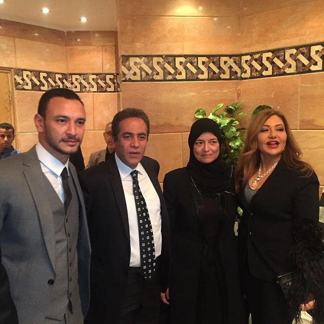 ابن الفنان خالد صالح