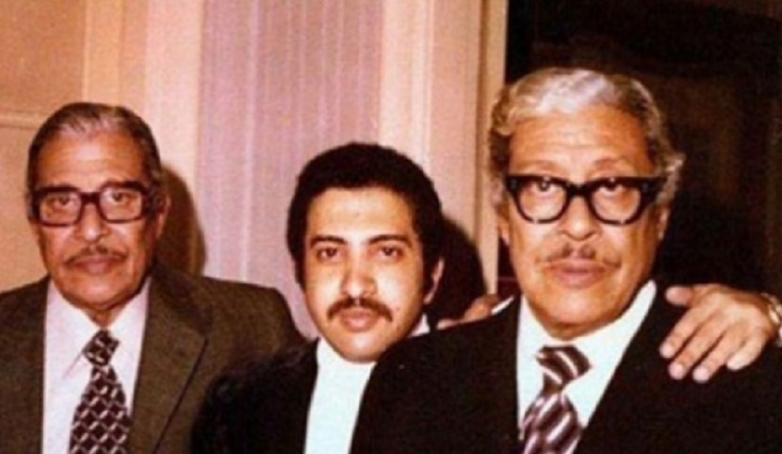 عماد حمدي وتوأمه عبدالرحمن