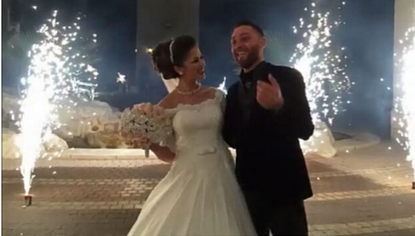 زفاف ليان بزلميط