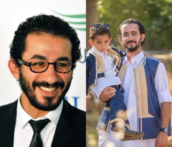 احمد حلمي وشبيهه