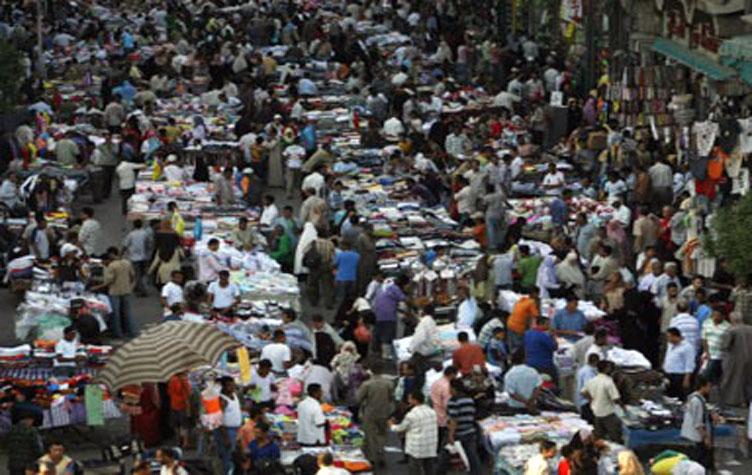 سكان مصر يتعدى 90 مليون