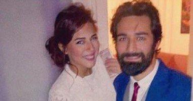 احمد حاتم وخطيبته