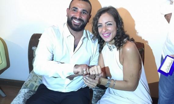 احمد سعد وريم البارودي