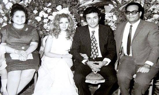 زفاف بوسي ونور الشريف