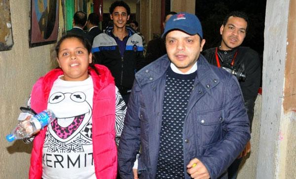 محمد هنيدي وابنته