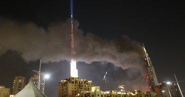 حريق دبي