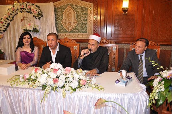 ايناس النجار تحتفل بعقد قرانها