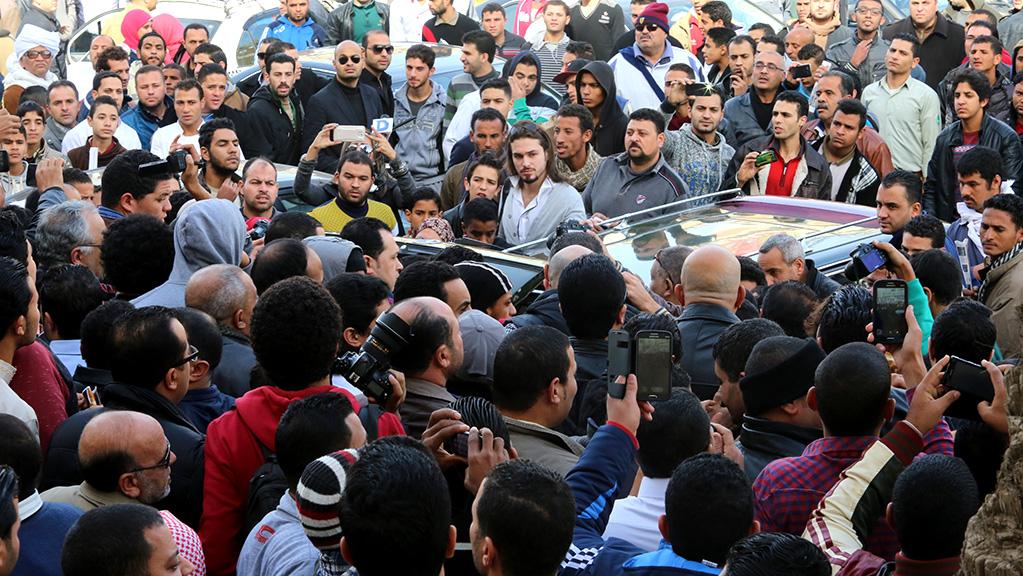 تشييع جنازة حمدي احمد