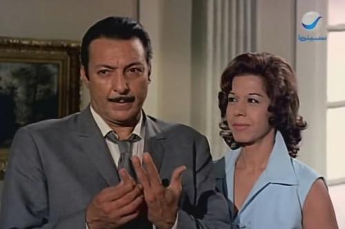 رشدي اباظة وسامية جمال