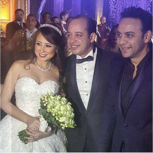 زفاف نجل خالد زكي