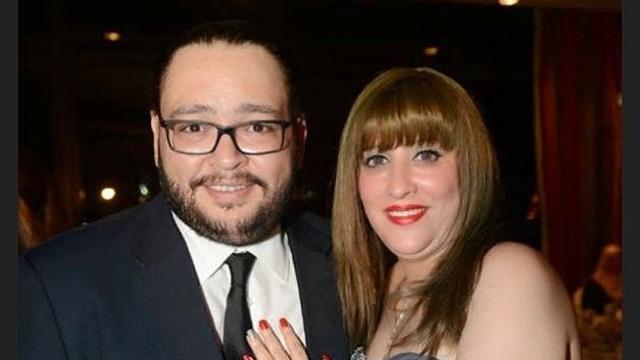احمد رزق وزوجته2