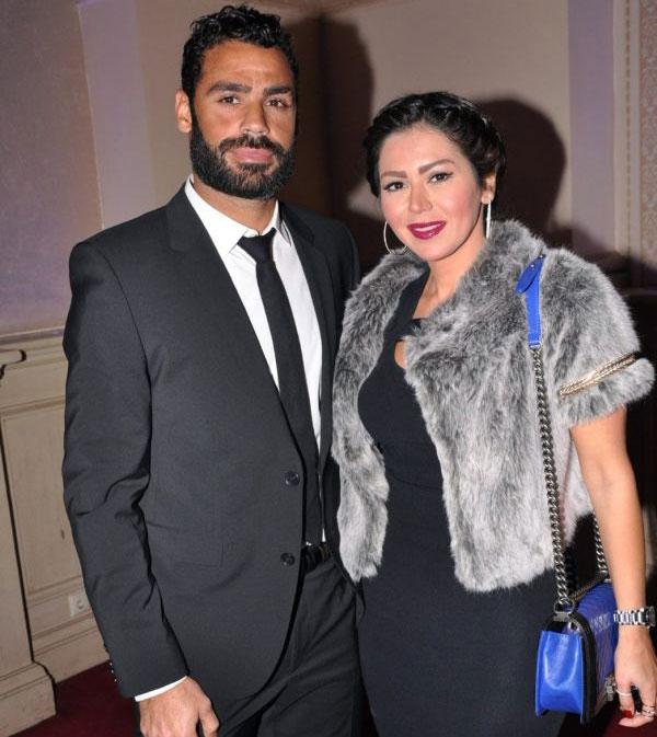 لقاء الخميسي وزوجها محمد عبدالمنصف