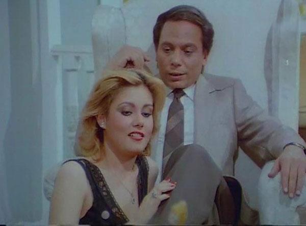 نادية ارسلان و عادل امام
