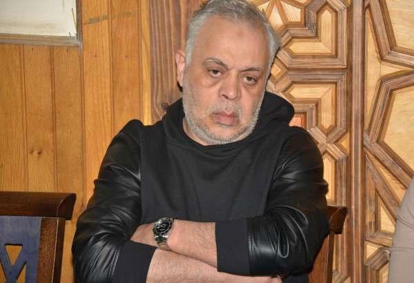 عزاء ابنة شقيق فاروق الفيشاوي