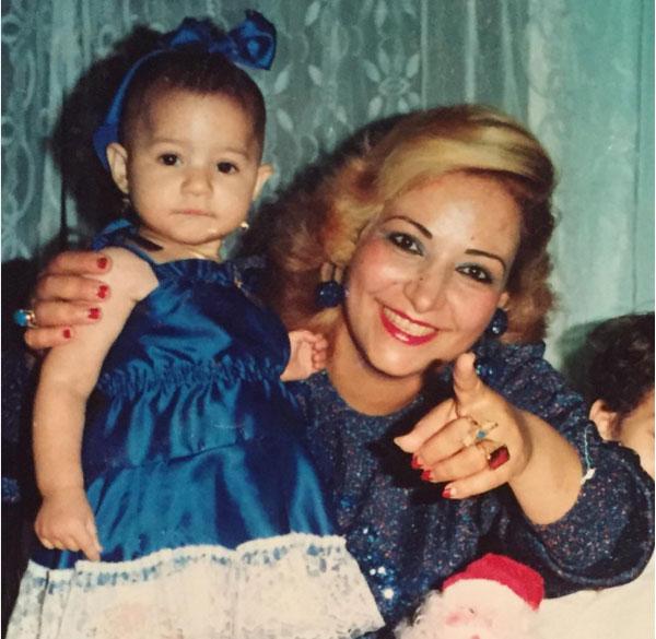 بوسي ووالدتها