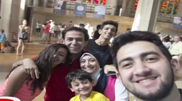 زوجة خيري رمضان وأبنائه