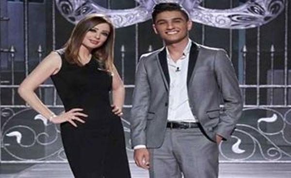 محمد عساف والإعلامية وفاء الكيلاني