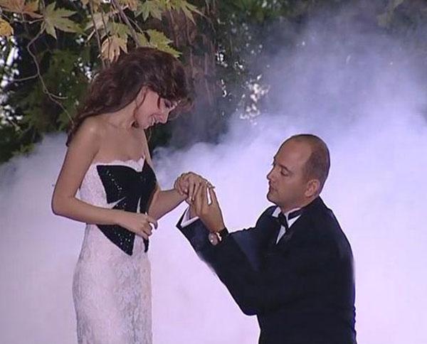 نانسي عجرم وزوجها