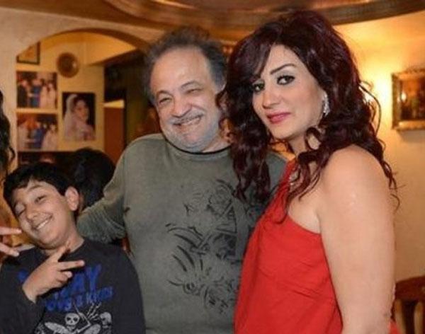 وفاء عامر وابنها عمر