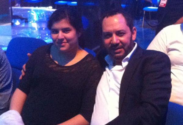 كمال ابو رية وابنته