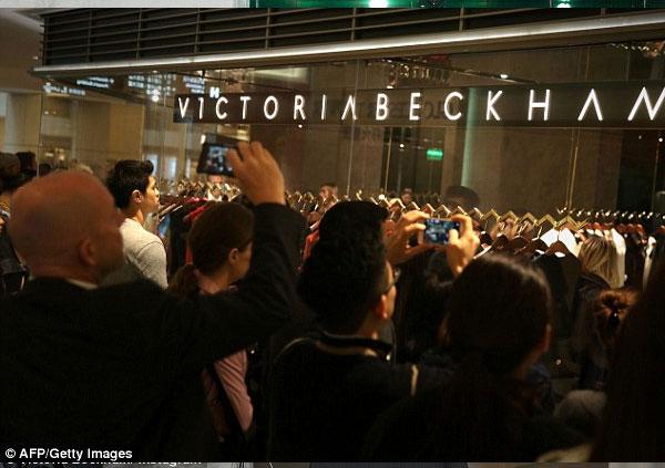 حفل افتتاح متجر فيكتوريا بيكهام في هونج كونج