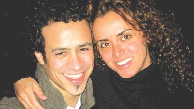 احمد داوود وزوجته