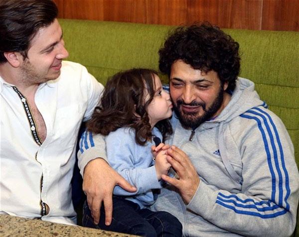 حميد الشاعري وابنته