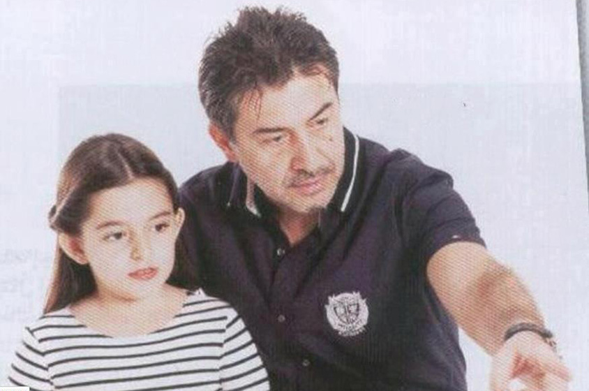 عابد فهد وابنته - Copy