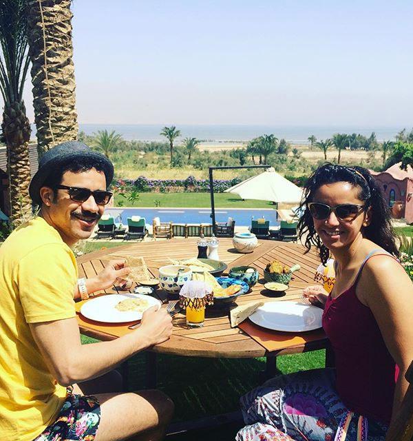 احمد داوود و علا رشدي