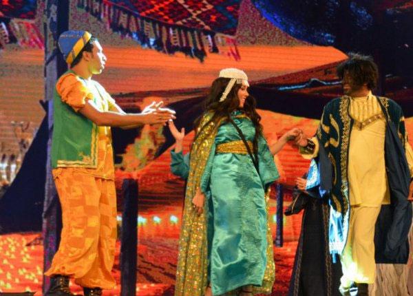 سارة سلامة و محمد سعد