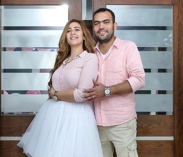 تعرف على الفنانة الفاتنة زوجة خالد عليش التي شبهها الجمهور بسارة سلامة.. صور