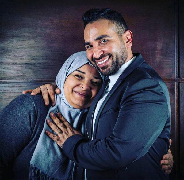 احمد سعد وشقيقته