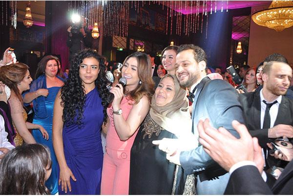 نجوم الفن في حفل زفاف محمود الجابري