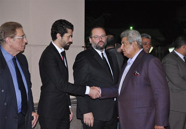 عزاء جدة كريم محمود عبدالعزيز - بارزة