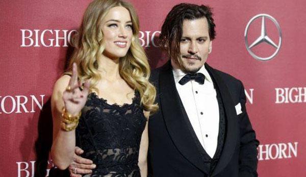 جوني ديب وزوجته