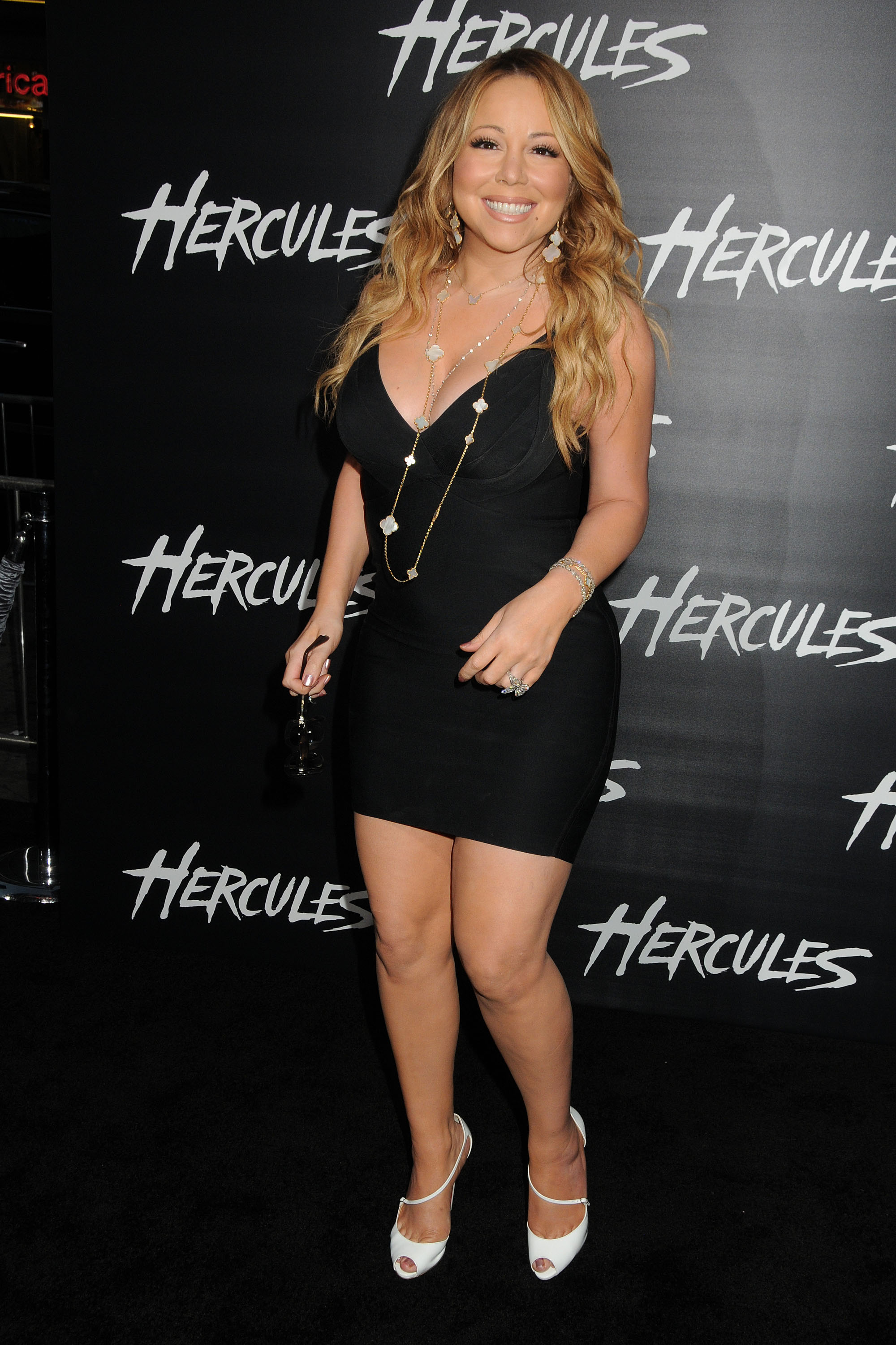 ADM_HERCULES_BP_79 - Mariah Carey at the 'Hercules' Los Angeles premiere held at the TCL Chinese Theatre on July 23, 2014. Pictured: Mariah Carey Ref: SPL807954  230714   Picture by: AdMedia / Splash News Splash News and Pictures Los Angeles:	310-821-2666 New York:	212-619-2666 London:	870-934-2666 photodesk@splashnews.com