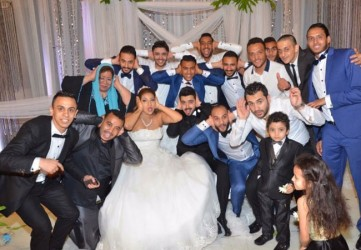 حفل زفاف شقيقة احمد سعد  - بارزة