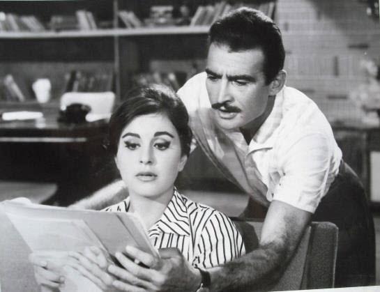 سعاد حسني و أحمد مظهر
