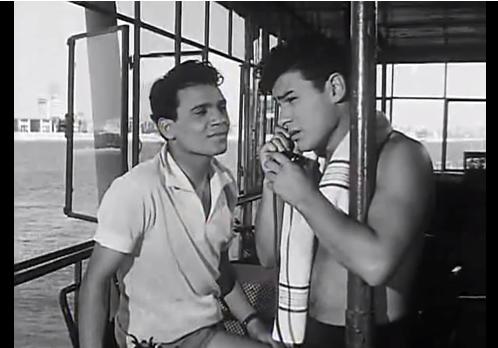 أحمد رمزي وعبدالحليم حافظ