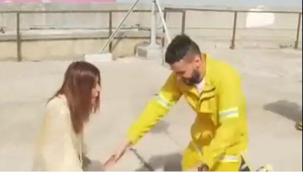 رامز جلال و سميرة سعيد
