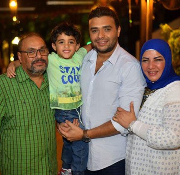 رامي صبري - حفل عيد ميلاد زوجته