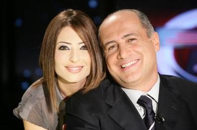 وفاء الكيلاني وزوجها طوني مخايل