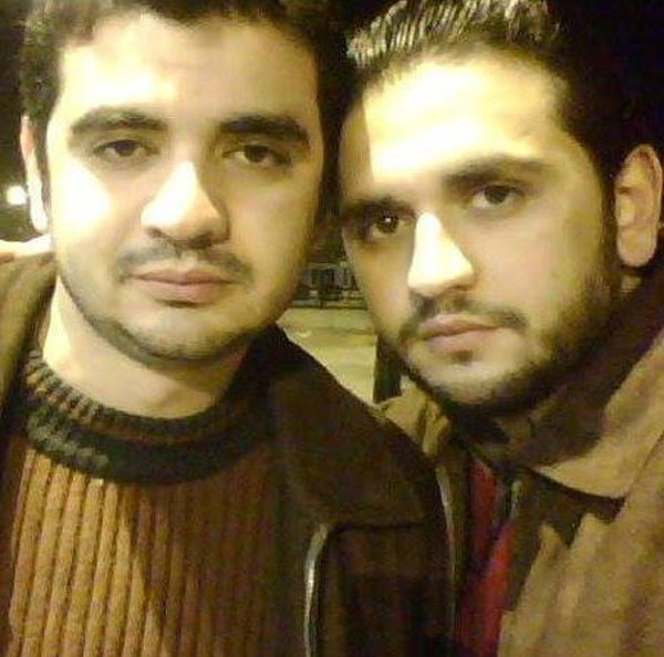 مصطفى خاطر وشقيقه