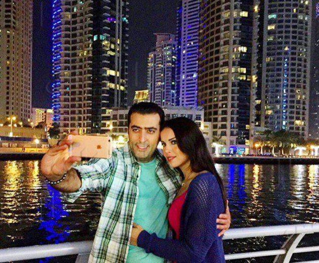 باسم ياخور وزوجته3