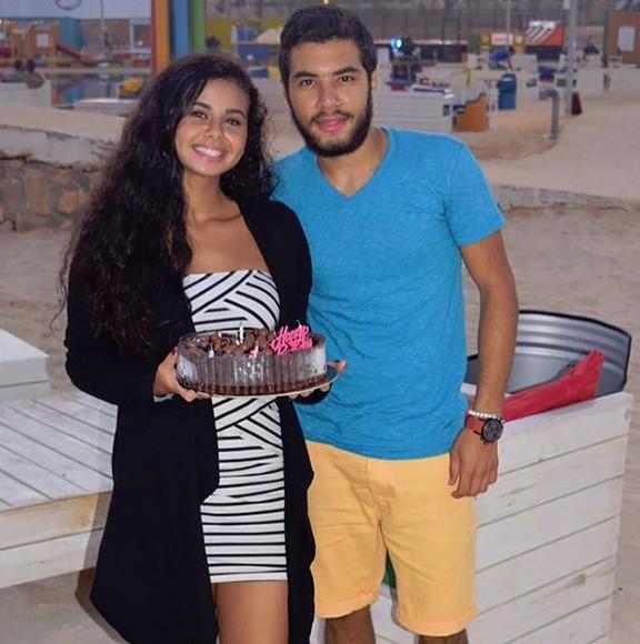 منة عرفة وابن مجدي كامل ومها أحمد2
