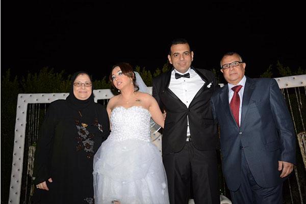 عايدة غنيم تحتفل بزفافها بحضور نجوم الفن