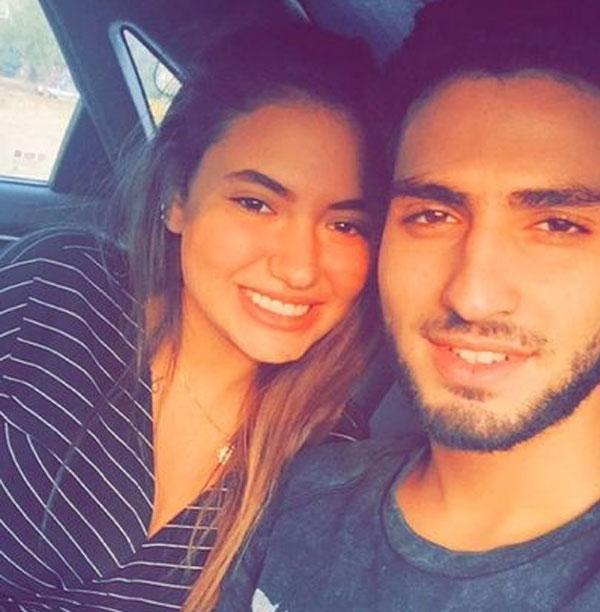 محمد الشرنوبي وخطيبته