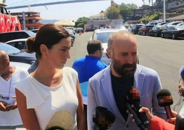 مهند ونجوم تركيا - مظاهرة تركيا