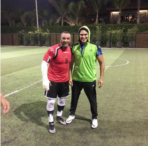 احمد السقا و احمد ابو هشيمة