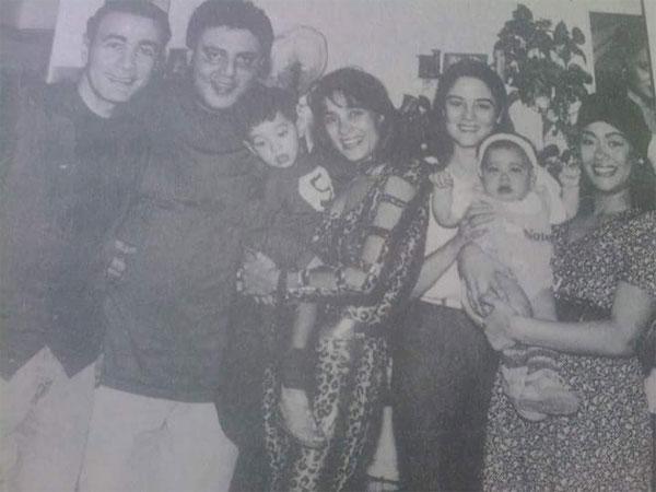 نهى العمروسي وزوجها